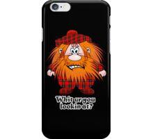 Jock MacNutter - Whit ur you lookin at? iPhone Case/Skin