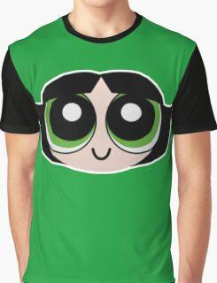 Powerpuff Girls Buttercup Squ'ed Graphic T-Shirt