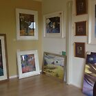 paintings ready for exhibition by maria paterson