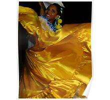 yellow two - amarillo dos Poster