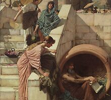 John Waterhouse - Diogenes by TilenHrovatic
