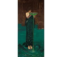 John William Waterhouse - Circe Invidiosa Photographic Print