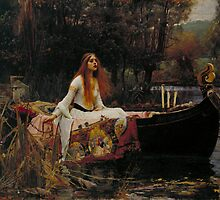 John William Waterhouse - The Lady of Shalott by TilenHrovatic