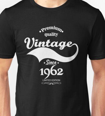 Premium Quality Vintage Since 1962 Limited Edition Unisex T-Shirt