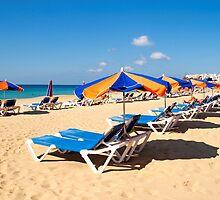 Corralejo beach in Fuerteventura island by Atman Victor