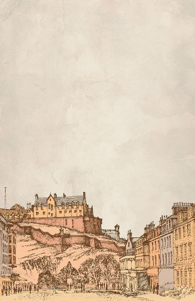 Tea in Edinburgh by Zeke Tucker