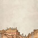 Tea in Edinburgh by Zeke Tucker