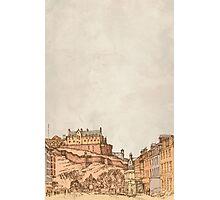 Tea in Edinburgh Photographic Print