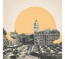 A Hug for Edinburgh Photographic Print