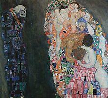 Gustav Klimt - Death and Life by TilenHrovatic