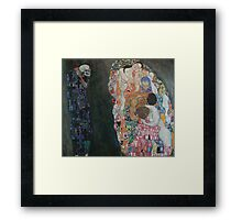 Gustav Klimt - Death and Life Framed Print