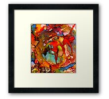 Superman Cometh Framed Print