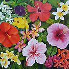 Tropical Flowers by Mike Paget