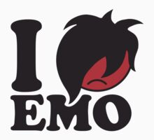 I Love Emo by Style-O-Mat