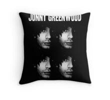 Jonny Greenwood Throw Pillow