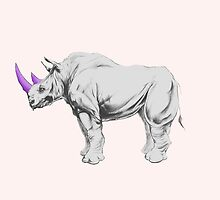 Party Animal ( Rhino ) by Zeke Tucker