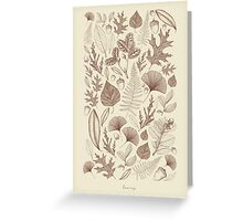 Study of Growth  Greeting Card