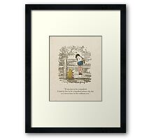 Winnie the Pooh & Friends Framed Print