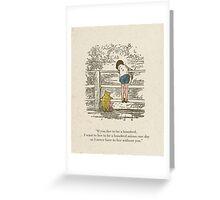 Winnie the Pooh & Friends Greeting Card