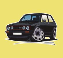 VW Golf GTi (Mk1) Black Kids Clothes
