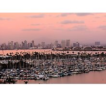 San Diego Skyline Photographic Print