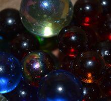 Illuminated Marbles by Ben Smith