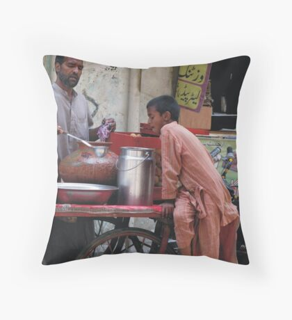 Spicy Food makes Hungry Throw Pillow