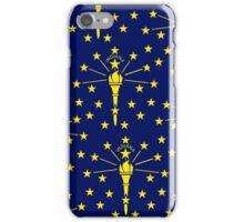 Smartphone Case - State Flag of Indiana - Emblem 1 iPhone Case/Skin