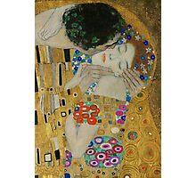 Gustav Klimt - The Kiss (detail) Photographic Print