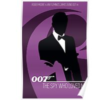 James Bond - The Spy Who Loved Me Poster