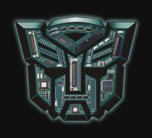 TRANSFORMERS: Motherboard Autobot by KERZILLA