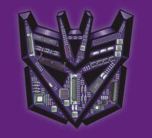 TRANSFORMERS: Motherboard Decepticon by KERZILLA