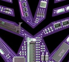 TRANSFORMERS: Motherboard Decepticon Sticker