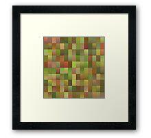endless blocks Framed Print