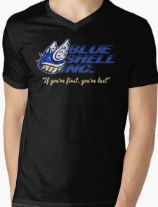 Blue Shell Inc. (no distressing) Mens V-Neck T-Shirt