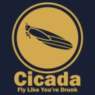 Cicada - Fly Like You're Drunk by oawan