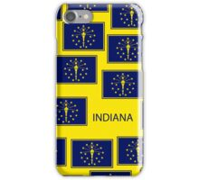 Smartphone Case - State Flag of Indiana - Patchwork Yellow iPhone Case/Skin