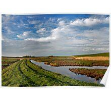 Wetlands on Schouwen. Poster