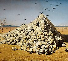 Vasily Vereshchagin - The Apotheosis of War by TilenHrovatic