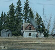 Old Farmstead by MaeBelle