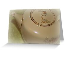 Tea Time I Greeting Card
