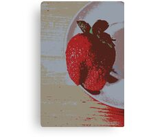 Strawberry Days Canvas Print
