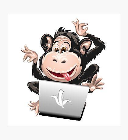 IT Monkey Photographic Print