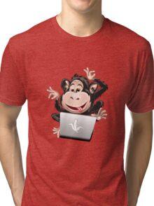 IT Monkey Tri-blend T-Shirt