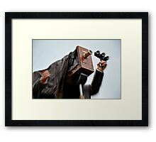 Snap Happy Framed Print