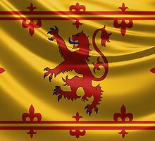 Royal Banner of the Royal Arms of Scotland by Serge Averbukh