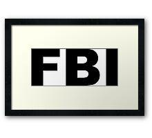 FBI Framed Print