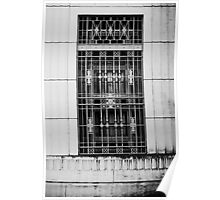 Window Grate Poster