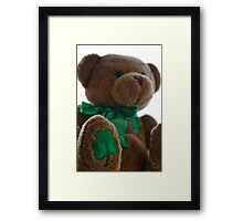 Good Luck Bear Framed Print
