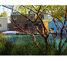 Hideaway - Mission Creek House Boat Photographic Print